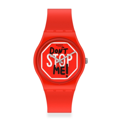 Swatch 原創系列手錶 DON T STOP ME ! 擋不住的快樂-34mm