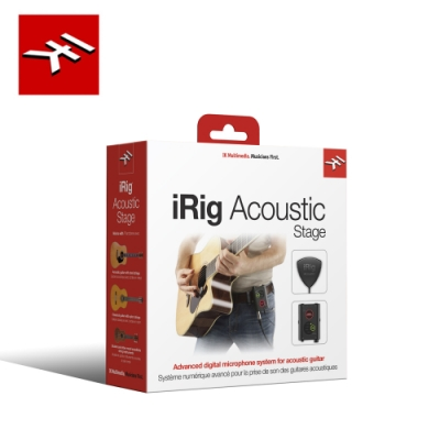 IK Multimedia iRig Acoustic Stage 木吉他數位拾音器系統