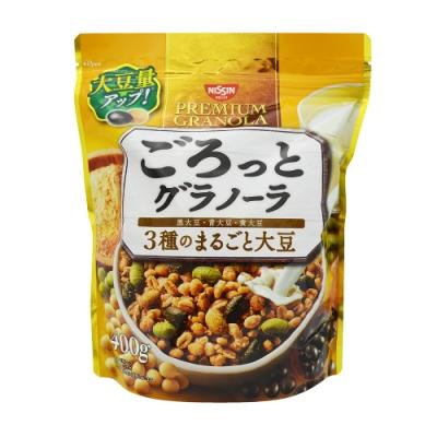 日清  三色豆早餐麥片(400g)