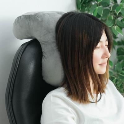 樂嫚妮 午睡枕/趴睡枕/頸枕/靠枕墊-灰
