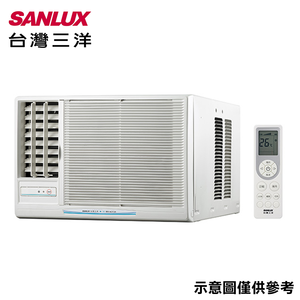 SANLUX三洋 4-6坪窗型左吹冷氣SA-L281FEA
