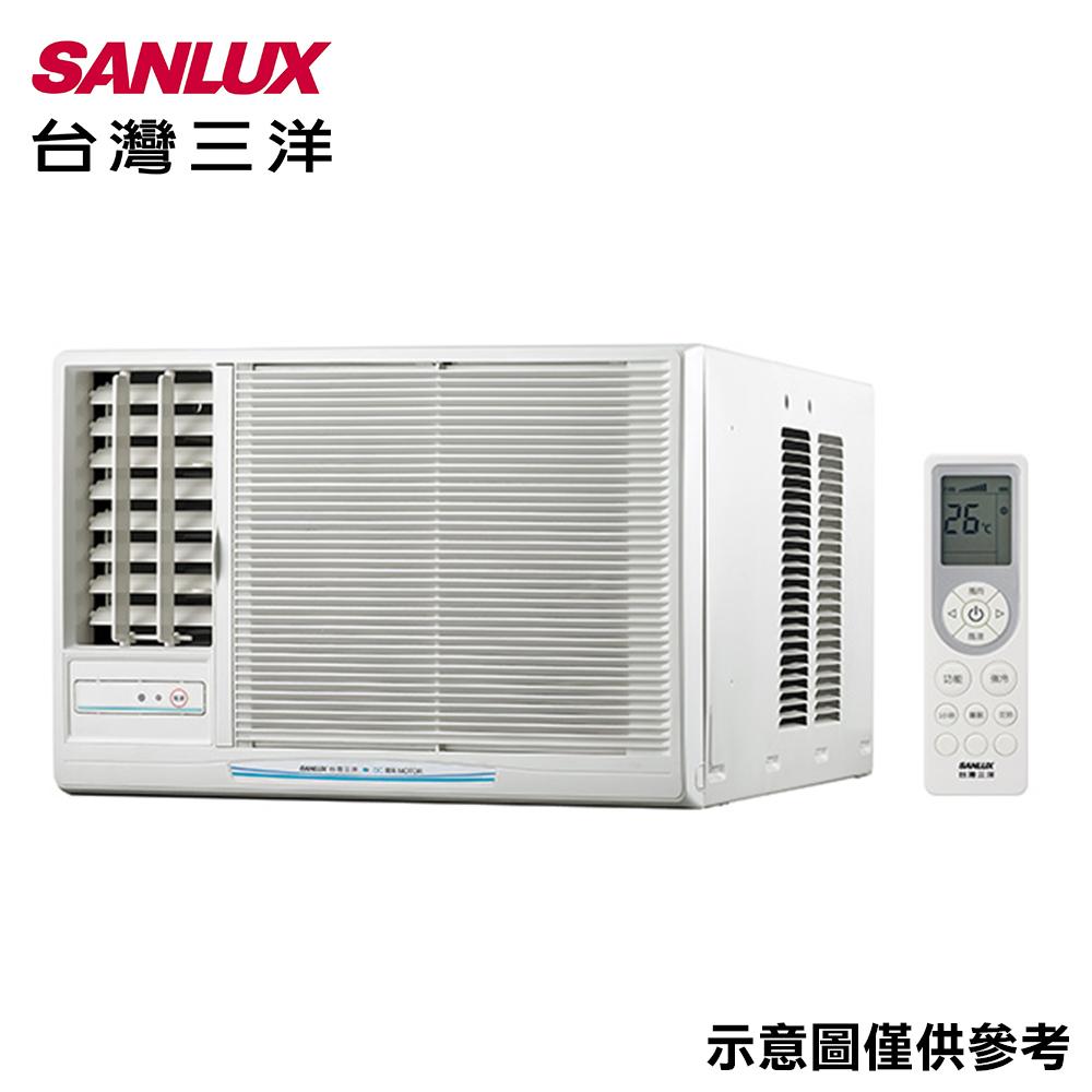 SANLUX三洋 4-6坪窗型左吹冷氣SA-L28FEA
