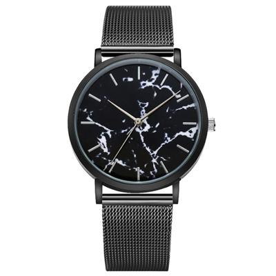 Watch-123 北歐典藏大理石紋米蘭帶手錶 (3色任選)