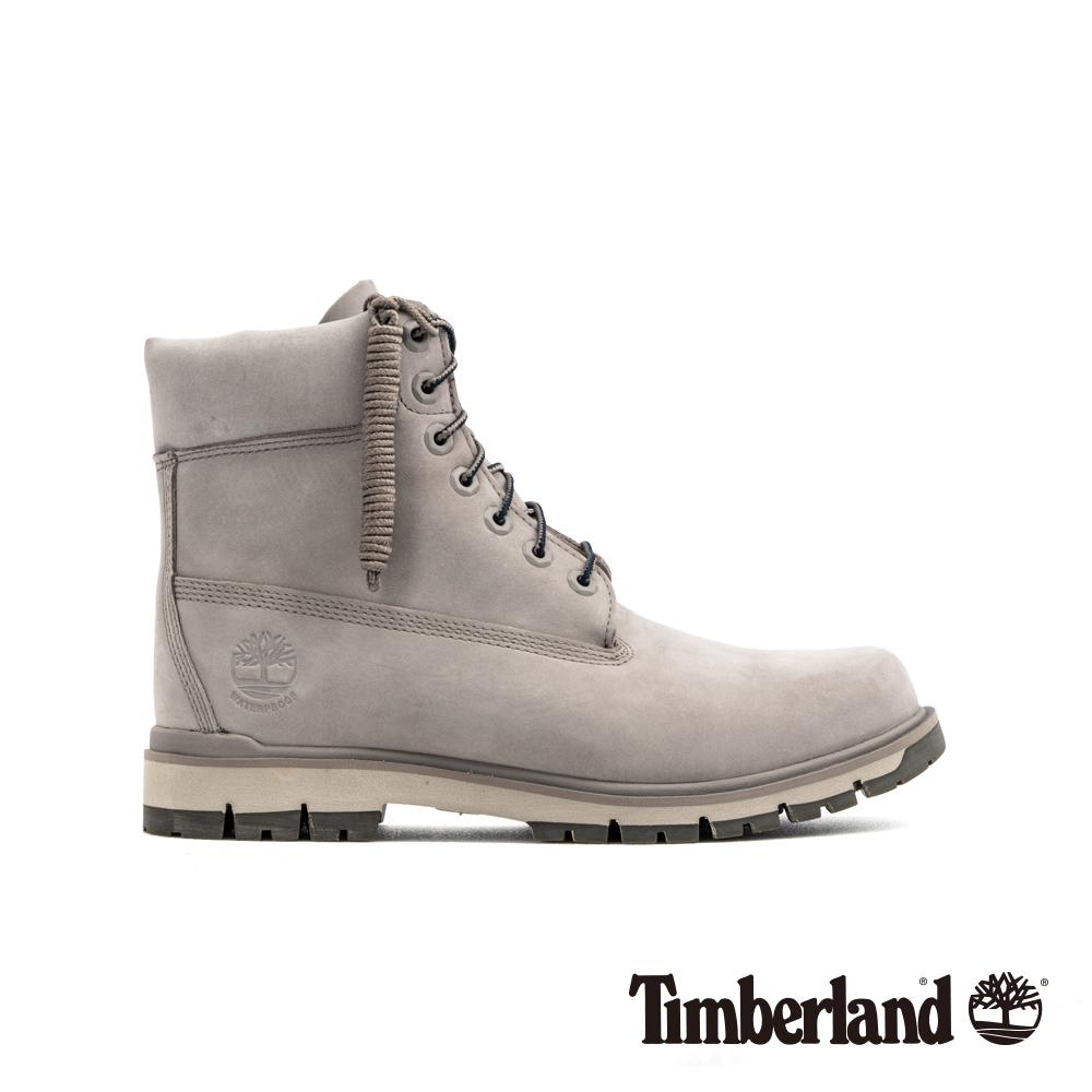 Timberland 男款深灰色磨砂革經典6吋靴|A2187