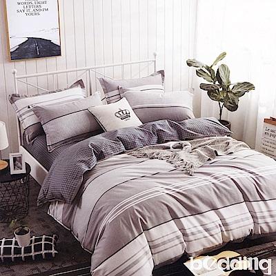 BEDDING-100%棉特大雙人6x7尺薄式床包-日光傾城
