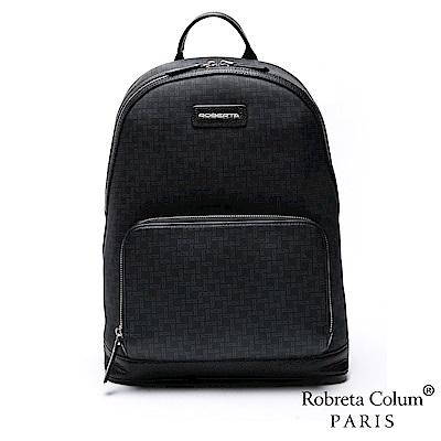 Roberta Colum - 商務精英尊爵牛皮後背包