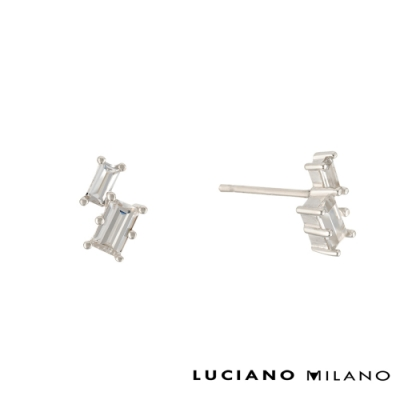 LUCIANO MILANO 星光燦爛 - 相互輝映純銀耳環