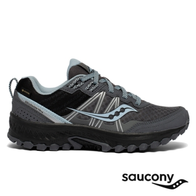 【Saucony】女 EXCURSION TR14 GTX 入門款全地型防水越野跑鞋(炭灰藍-SCS10588-2)