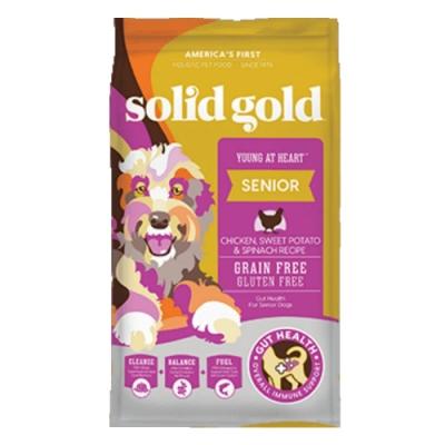 Solid gold速利高-青春無敵-老犬、低活動量超級寵糧 4LBS/1.81KG