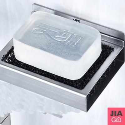 JIAGO 免鑽孔不鏽鋼無痕肥皂架