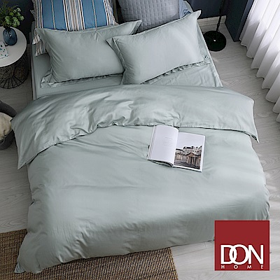 DON伯特綠 雙人四件式60支紗親膚天絲被套床包組