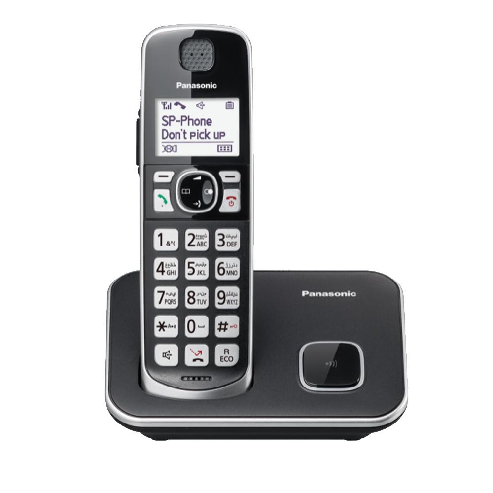 Panasonic KX-TGE610TWB 中文數位無線電話