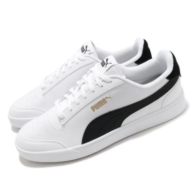 Puma 休閒鞋 Shuffle 運動 男女鞋 基本款 舒適 簡約 情侶穿搭 白 黑 30966803