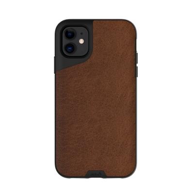 Mous Contour iPhone 11 天然材質防摔保護殼-摩卡皮革