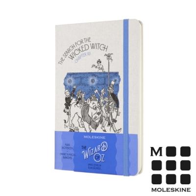 MOLESKINE 綠野仙蹤限定版筆記本-尋找邪惡女巫(L型橫線)