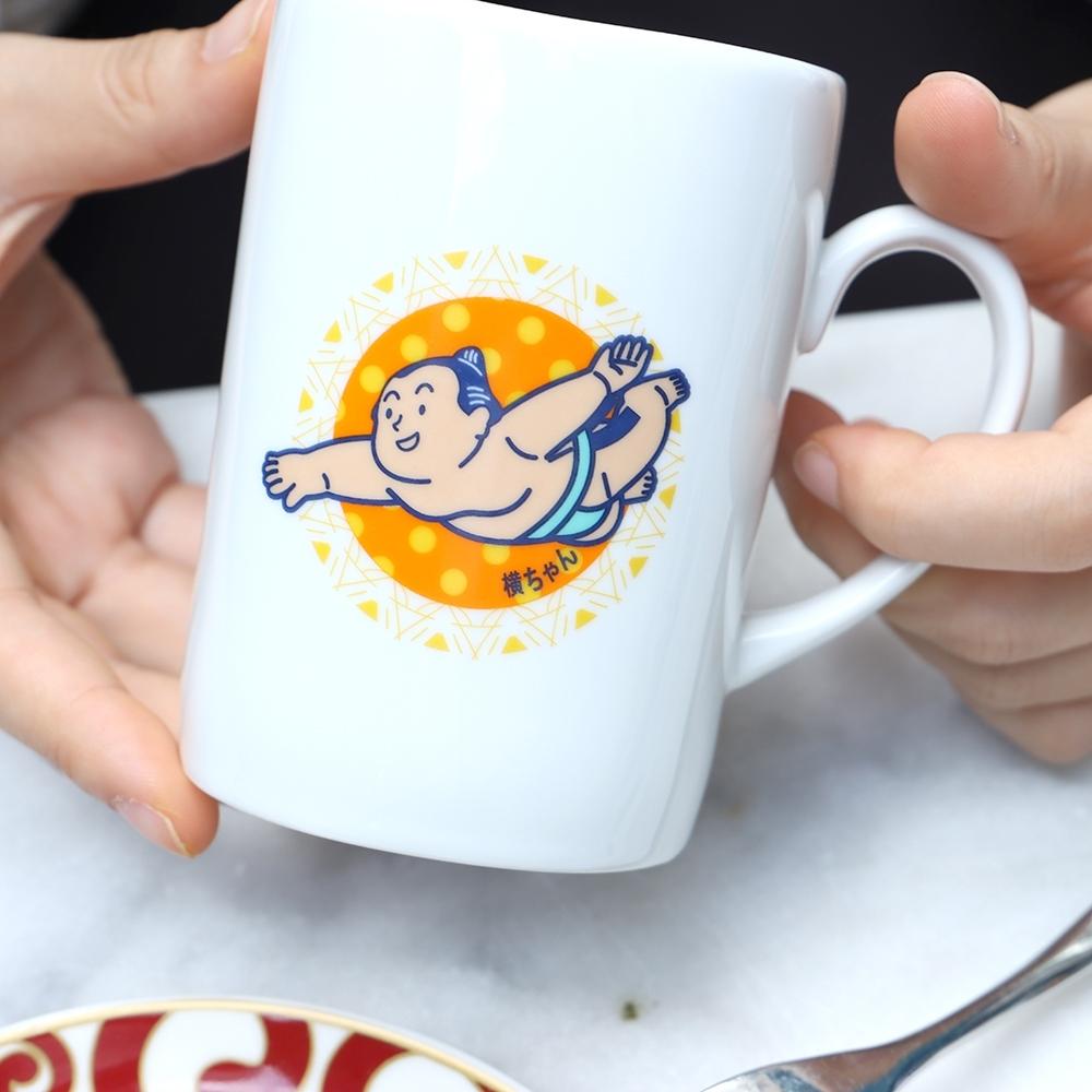 大金寶寶 馬克杯飛行橘