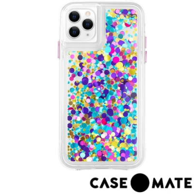美國 Case●Mate iPhone 11 Pro Max 絢彩亮片瀑布防摔手機保護殼