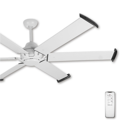 阿拉斯加 MEGA工業吊扇72吋(遙控)-白色