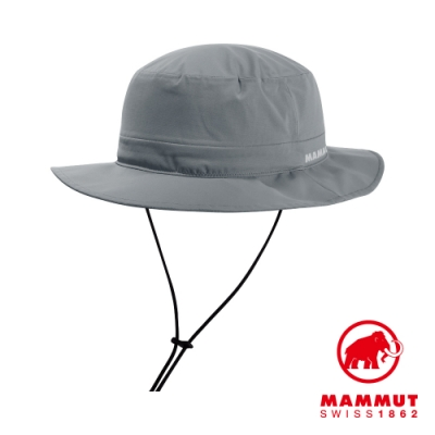 【Mammut 長毛象】Machu Hat 防水快乾漁夫帽 花崗岩灰 #1191-02914