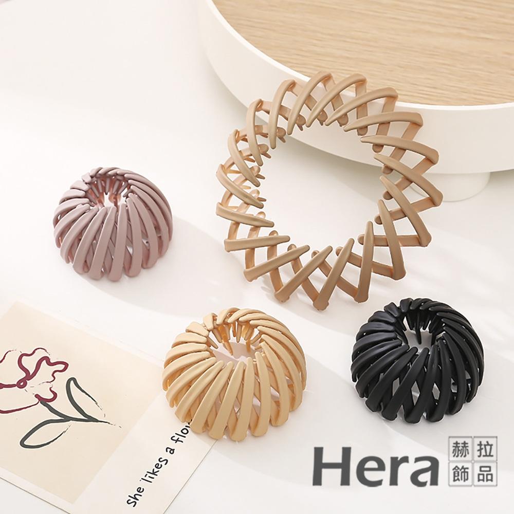 【Hera 赫拉】韓版鳥巢髮圈丸子頭髮飾-3色 H1100701