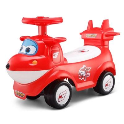 SUPER WINGS 兒童音樂助步車-杰特(紅)