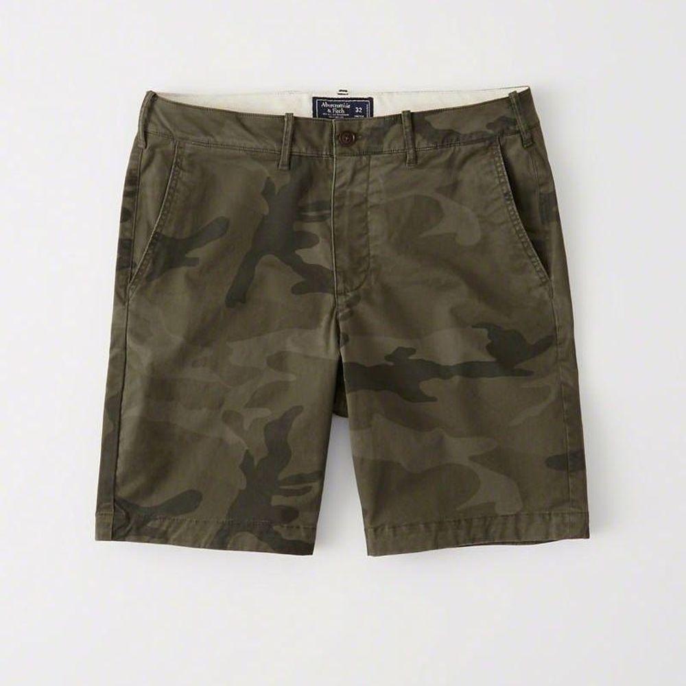 AF a&f Abercrombie & Fitch 短褲 迷彩 0870