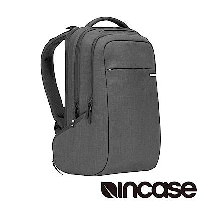 INCASE ICON Backpack 15吋 舞龍面料 雙層筆電後背包 (麻灰)
