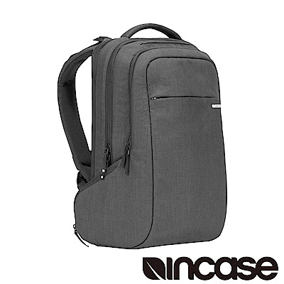 INCASE ICON Backpack 15吋 雙層筆電後背包 (麻灰)