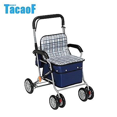 日本TacaoF幸和 標準型助步車-條紋黑