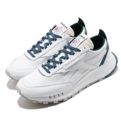 Reebok 休閒鞋 CL Legacy 運動 男女鞋 基本款 簡約 舒適 情侶穿搭 球鞋 白 藍 FY7553