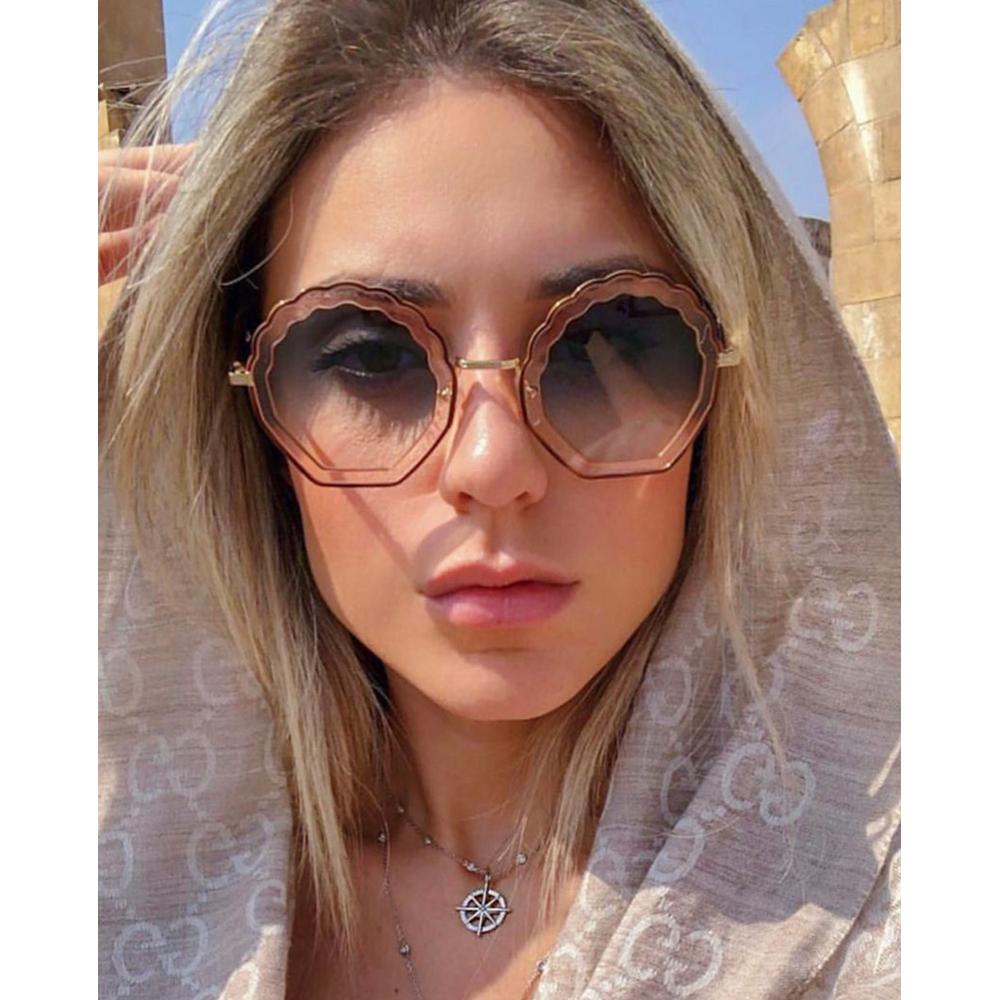 CHLOE 名人愛用款 太陽眼鏡 (金色) CE147S-833