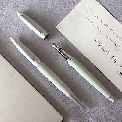 ARTEX life開心鋼筆+原子筆 雙筆豪華組-迷霧