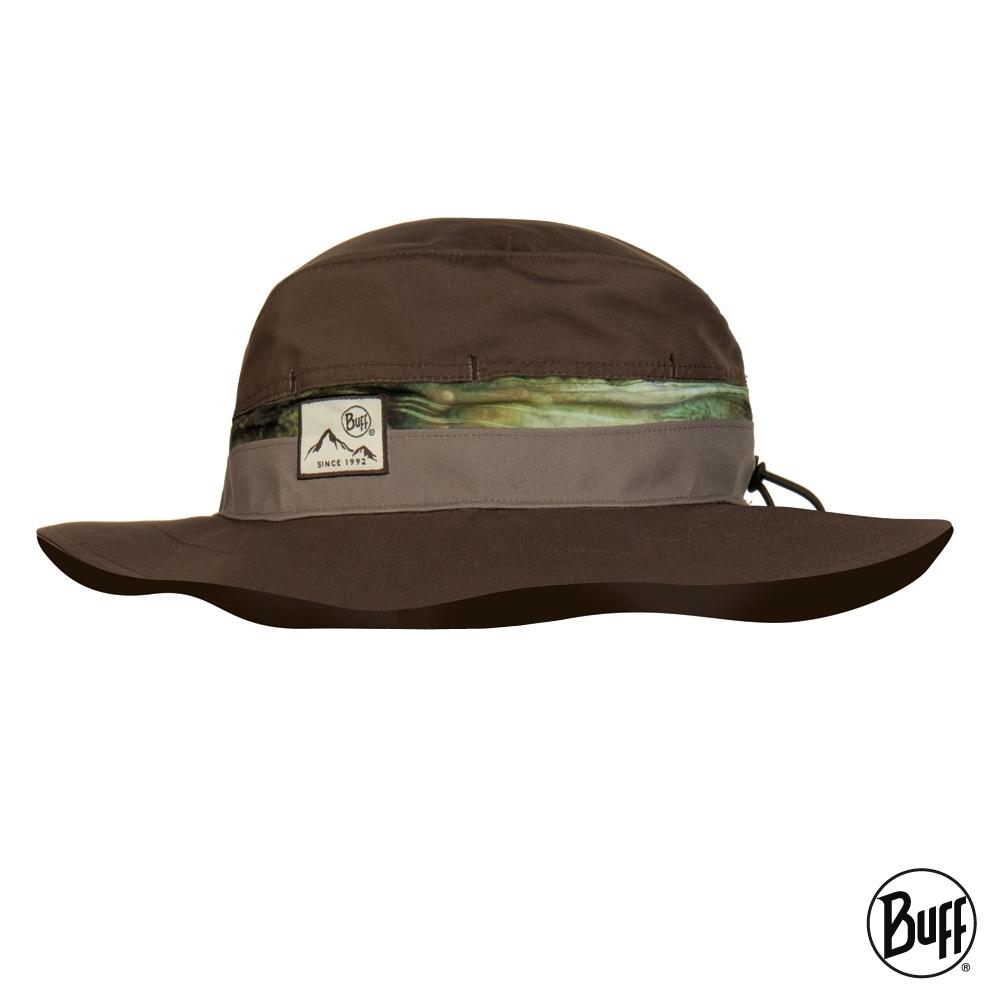 【西班牙BUFF】 可收納圓盤帽-蔭涼卡其