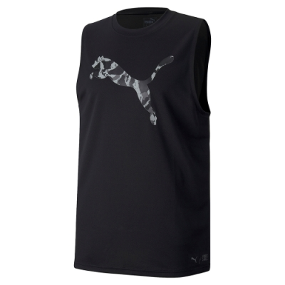 PUMA-男性訓練系列First Mile運動背心-黑色-歐規