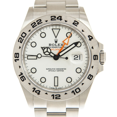 ROLEX 勞力士 GMT 226570 Explorer II 蠔式白面腕表x42mm