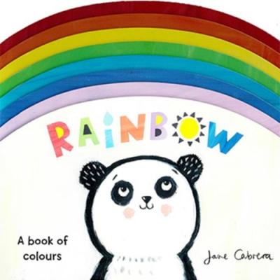 Rainbow A Book Of Colors 彩虹的顏色造型硬頁書