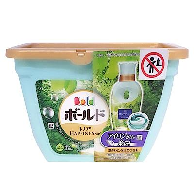 日本P&G 3D立體洗衣果凍膠囊-微風綠草香(308g)-16顆入