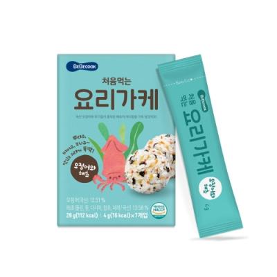 韓國 BEBECOOK 初食拌飯香鬆(海苔魷魚)