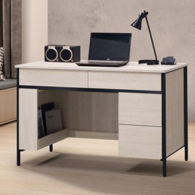 Homelike 瑞利4尺書桌-120 x 60 x 77 公分