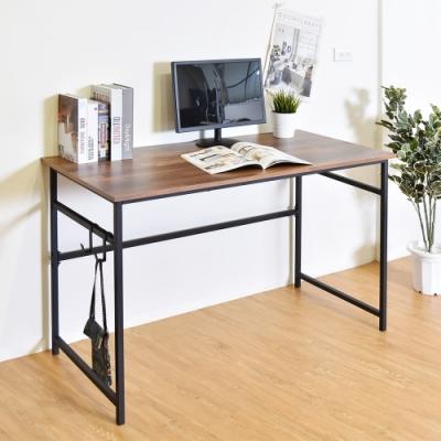 凱堡 雷恩120X60cm簡約(附掛勾)工作桌/電腦桌