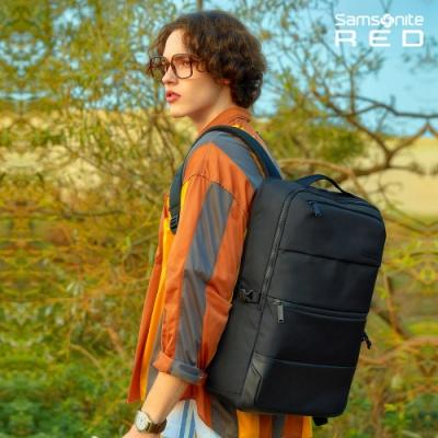 Samsonite RED HAESOL 實用現代款筆電後背包L 15.6吋(黑)