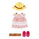 任選日本小美樂娃娃 草莓長洋裝_PL51472 (不含娃娃)PILOT原廠公司貨 product thumbnail 1