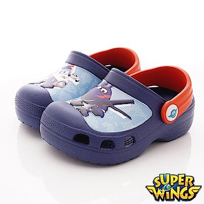 SUPER WINGS 保羅護趾涼鞋款 NI3902藍(中小童段)
