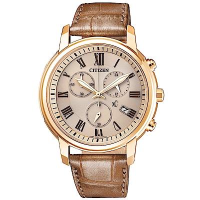 CITIZEN XC 亞洲限定優雅甜美時尚腕錶(FB1433-01P)