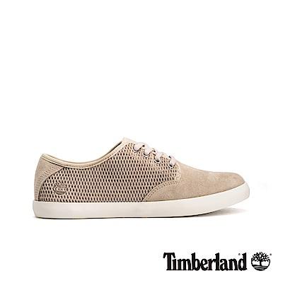 Timberland 女款淺灰褐色正絨面皮革休閒鞋|A1VJ4