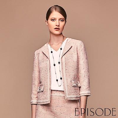 EPISODE - 立體混色織紋挺版西裝外套