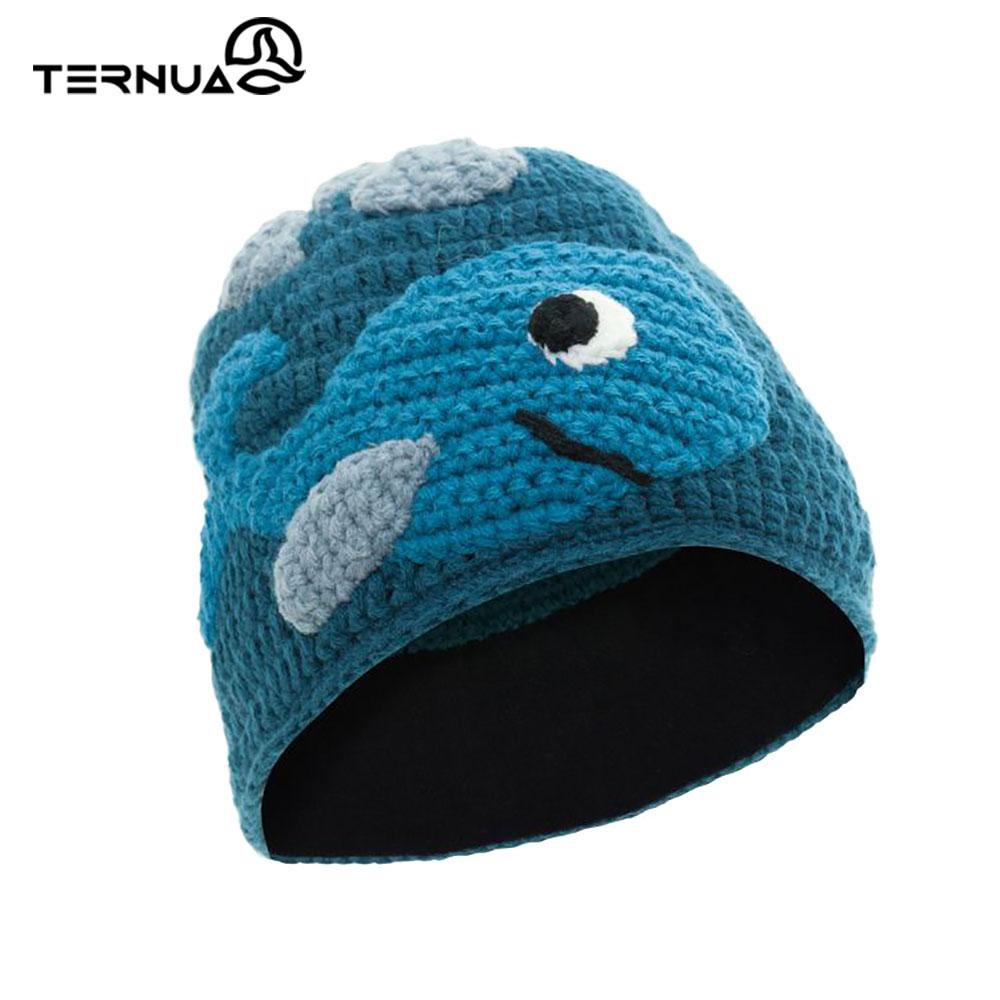 TERNUA 童保暖毛帽2661667【藍色】