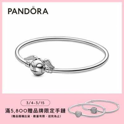 【Pandora官方直營】 Moments 《哈利波特》金探子手環