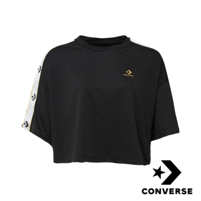 CONVERSE STAR CHEVRON  女短版T恤 10007700-A01