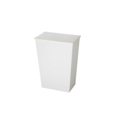 日本岩谷Iwatani 寬型可分類掀蓋式垃圾桶(附輪)-36L